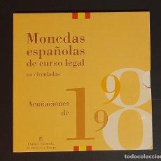 Moedas FNMT: ESPAÑA PESETAS - CARTERA FNMT AÑO 1998 JUAN CARLOS S/C. Lote 267480134