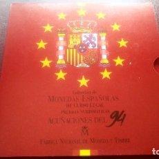 Monedas FNMT: COLECCION MONEDAS ESPAÑOLAS CURSO LEGAL ACUÑACIONES 1994 FNMT NO CIRCULADAS. Lote 268130924