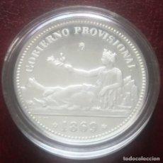 Monedas FNMT: 1 PESETA 1869 ENCAPSULADA FNMT PROOF PLATA DE 925. Lote 268138909