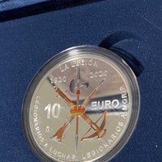 Monedas FNMT: MONEDA CENTENARIO DE LA LEGION 10€ PLATA. Lote 268975644