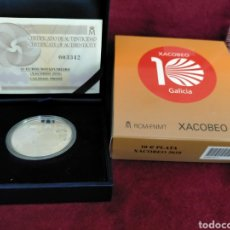 Monedas FNMT: MONEDA 2010 PLATA XACOBEO 10-€. Lote 268976609