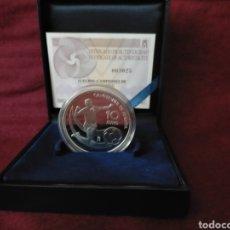 Monedas FNMT: MONEDA 2012 PLATA 10-€ CAMPEONES DE EUROPA. Lote 268978279