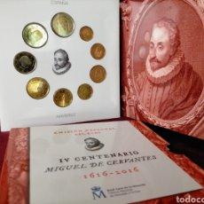 Monedas FNMT: EUROSET ESPAÑA 2016 CERVANTES. Lote 268980114