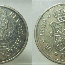 Monedas FNMT: REPRODUCCION DE LA FNMT BAÑO DE PLATA FERNANDO VII 5 PESETAS 1809 GERONA. Lote 270161418