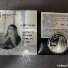 Moedas FNMT: ESPAÑA 10 EUROS PLATA 2015 SANTA TERESA DE JESUS. Lote 274268128