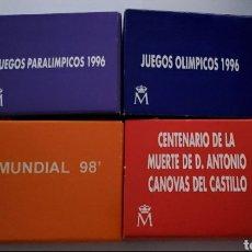 Monedas FNMT: 4 MONEDAS DE 1000 PESETAS PLATA. Lote 279467208
