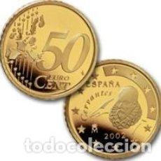 Monedas FNMT: ESPAÑA 50 CENTIMOS -EURO CENT- AÑO 2002 ESCASA. Lote 284153763