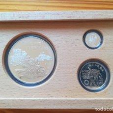 Monedas FNMT: SET MONEDAS FNMT 1998 25, 5, 1 EURO TEMA MILITAR 209 GR PLATA 925. Lote 286774863