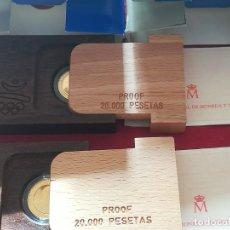 Monedas FNMT: MONEDAS 20000 PESETAS DE ESPAÑA ORO 1990 - 92, BARCELONA 92. Lote 289012343