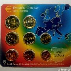 Monedas FNMT: ESPAÑA. EMISIÓN EURO 2003. F.N.M.T.. Lote 289018778