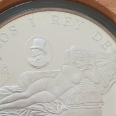Monedas FNMT: MONEDA DE PLATA 10000 PST ESPAÑA 1996 PLATA FNMT, CULTURA Y NATURALEZA, MAJA DESNUDA. Lote 289508528