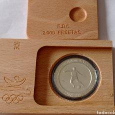 Monedas FNMT: MONEDA DE PLATA EN ESTUCHE Y CERTIFICADO. Lote 292573238