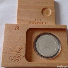 Monedas FNMT: MONEDA DE PLATA 2000 PTS CON CERTIFICADO. Lote 292574923