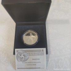 Monedas FNMT: MONEDA DE PLATA 10 EUROS MANUELA MALASAÑA 2008. Lote 293486628