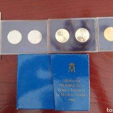 Monedas FNMT: ESTUCHE COMPLETO 6 MONEDAS DE 500 PESETAS PRUEBAS FNMT, ASI NACE UNA MONEDA 1987. Lote 293687678