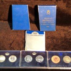 Monedas FNMT: 500 PESETAS PRUEBAS. XXV ANIVERSARIO BODA REYES DE ESPAÑA. Lote 293821893