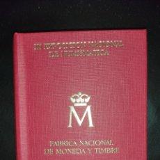 Monedas FNMT: CARTERA DE MONEDAS E87 FNMT. Lote 293881143