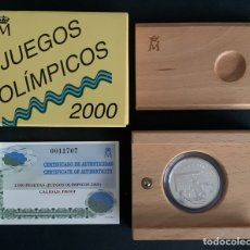 Monedas FNMT: CMC 1000 PESETAS 2000 JUEGOS OLIMPICOS (PLATA) PROOF. Lote 293952183