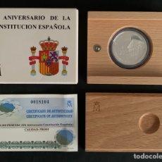 Monedas FNMT: CMC 1000 PESETAS 1998 XX ANIVERSARIO DE LA CONSTITUCION ESPAÑOLA (PLATA) PROOF. Lote 293954483