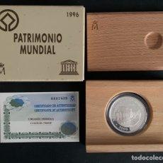 Monedas FNMT: CMC 2000 PESETAS 1996 PATRIMONIO MUNIDIAL DE LA HUMANIDAD MERIDA (PLATA) PROOF. Lote 293955038