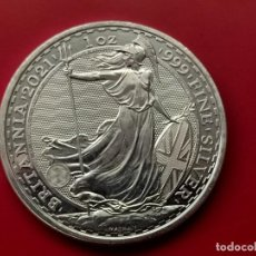 Monedas FNMT: MONEDA DE PLATA BRITANNIA 2021 1 OZ .PROOF 31G. Lote 295044138
