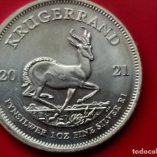 Monedas FNMT: MONEDA DE PLATA KRUGERRAND 2021 1 OZ 31G PROOF. Lote 295044398
