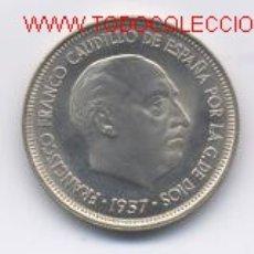 Monedas Franco: ESTADO ESPAÑOL- 5 PESETAS- 1957*59-SC. Lote 3673998