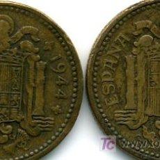 Monedas Franco: LOTE 2 MONEDAS DE 1 PTA. 1944. Lote 26762939