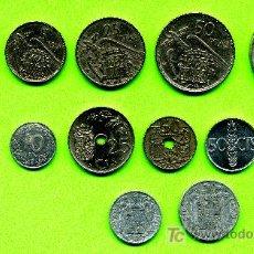 Monedas Franco: COLECCIÓN DE 12 MONEDAS FRANCO DE 100 PTAS. A 5 CTMOS.. Lote 26654251