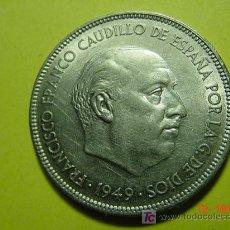 Monedas Franco: 2224 ESPAÑA ESTADO ESPAÑOL 5 PESETAS GRANDE AÑO 1949*50 MIRA MAS EN MI TIENDA COSAS&CURIOSAS. Lote 5888613