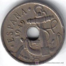 Monedas Franco: ESPAÑA 50 CENTIMOS 1949 * 19-54. Lote 6284614