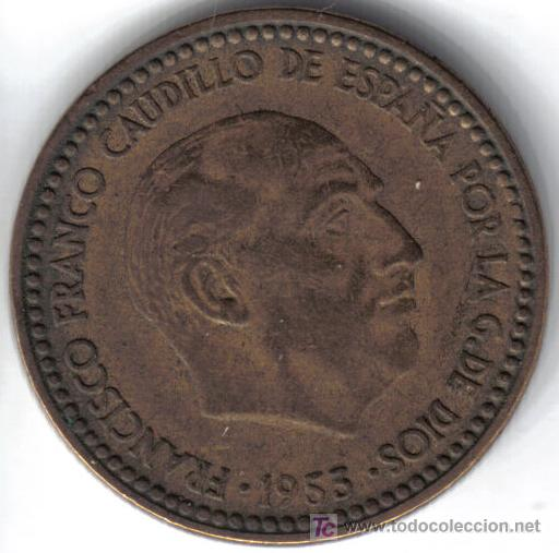 etat 51 SPAIN  ESPAGNE  1  pesetas   1947