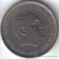 Monedas Franco: ESPAÑA 25 PESETAS 1957 * 58. Lote 27638194