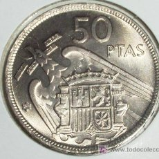 Monedas Franco: 50 PESETAS 1957* 72 PRUEBA ( SC ). Lote 13941236