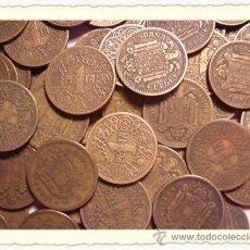 Monedas Franco: LOTE DE 5 MONEDAS DE 1 PESETA DE 1944 .. Lote 31195087