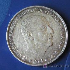 Monedas Franco: **MONEDA DE PLATA,---100 PTAS. F. FRANCO(1966)*66---**¡¡¡ OFERTA, OCASION !!!. Lote 30026370