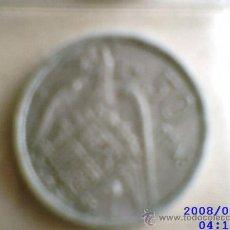 Monedas Franco: MONEDA DE 50 PESETAS. FRANCO, 1957, ESTRELLA 1958. Lote 40101204