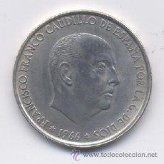 Monedas Franco: 100 PESETAS 1966*67 VARIANTE. Lote 131721557
