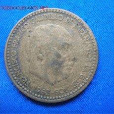 Monedas Franco: 1 PESETA AÑO 1963 *63. Lote 2616532