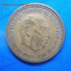 Monedas Franco: 1 PESETA 1953 *62. Lote 2619248