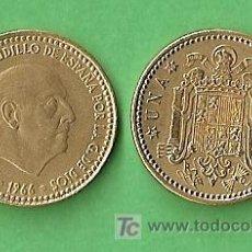 Monedas Franco: 1966 *69 MONEDA DE 1 PESETA. Lote 9861514
