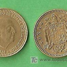 Monedas Franco: 1966 *69 MONEDA DE 1 PESETA. Lote 9861555