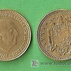 Monedas Franco: 1966 *69 MONEDA DE 1 PESETA. Lote 9861594
