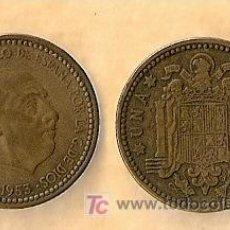 Monedas Franco: 1953 *56 MONEDA DE 1 PESETA. Lote 9863447