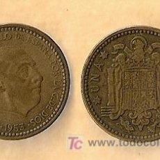 Monedas Franco: 1953 *56 MONEDA DE 1 PESETA. Lote 9863493