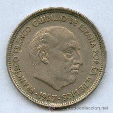 Monedas Franco: ¡¡ OFERTON !!! 50 PTA 1957*59 DEL ESTADO ESPAÑOL, FRANCISCO FRANCO, MONEDA DE NIQUEL. Lote 30672144