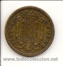 Monedas Franco: Reverso - estrella perfecta - 19-51 - - Foto 2 - 27414654
