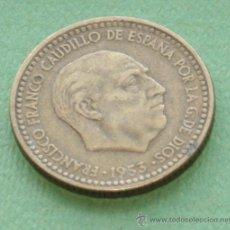 Monedas Franco: 1 PESETA 1953*62. Lote 55863558