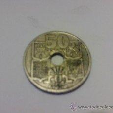 Monedas Franco: MONEDA 50 CENTIMOS 1949 FLECHAS INVERTIDAS. Lote 26357369