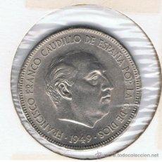 Monedas Franco: MONEDA DE 5 PESETAS, AÑO 1949 *50, ESTADO EBC, VER FOTOS. Lote 27614330